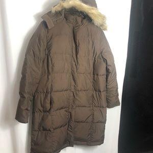 LL Bean Women's Ultrawarm Coat, Three Quarter Length size Large